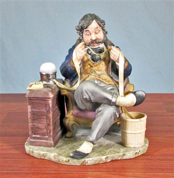 The Tycoon Collection By Pucci Sitting Stock Broker Figurine