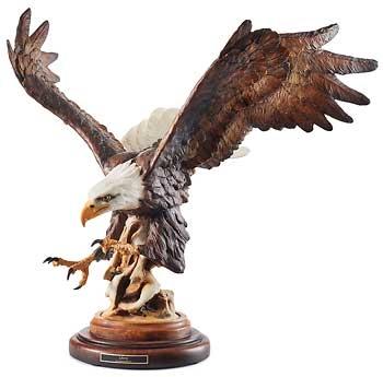 American Bald Eagle Statue Bald Eagle Gift Bull Market Gifts