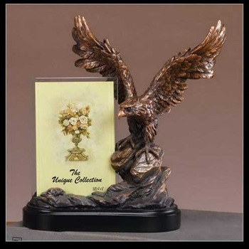 Eagle Statue Picture Frame Eagle Figurine Picture Frame