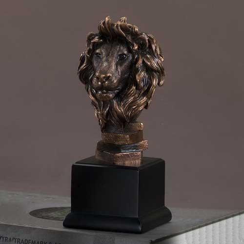 Lion Head Statue Lion Sculpture