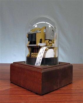 Wooden Stock Ticker Replica Stock Ticker Tape Machine